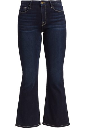 Frame Women's Le Crop Mid-Rise Bootcut Jeans - - Size 31 (10)