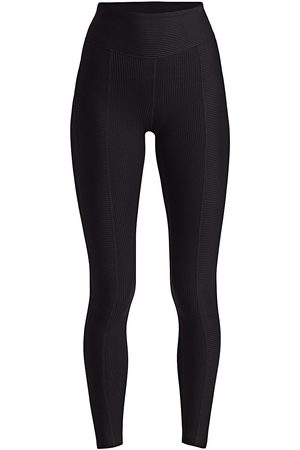 Years Of Ours Women's Ribbed 54 Athletic Leggings - - Size Large
