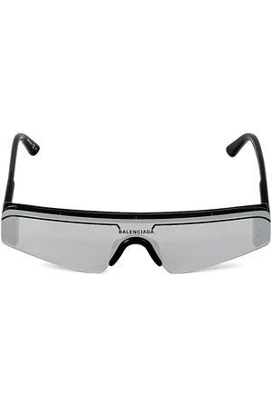 Balenciaga Men's 99MM Mirror Square Acetate Sunglasses
