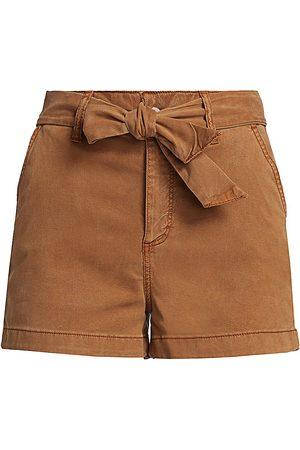 Paige Women's Anessa Tie-Waist Shorts - - Size 32 (12)