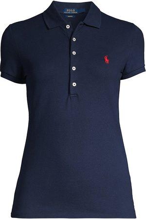 Polo Ralph Lauren Women Polo Shirts - Women's Julie Skinny Polo - - Size Small