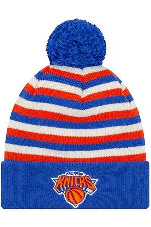 New Era Men's EK Cashmere New York Knicks Striped Knit Beanie