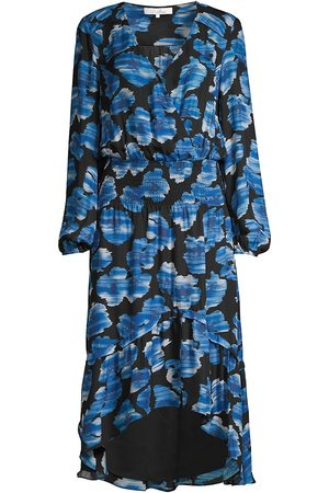 Parker Women's Elizabeth Silk Blend Floral Blouson Dress - - Size XXS