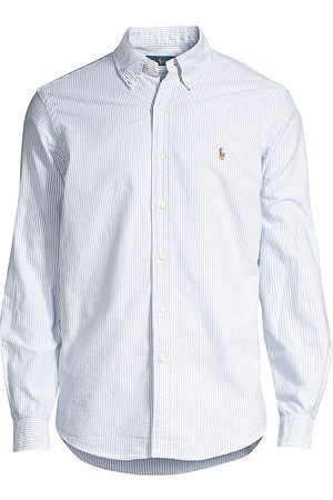 Polo Ralph Lauren Men's Striped Cotton Oxford Shirt - - Size XXL
