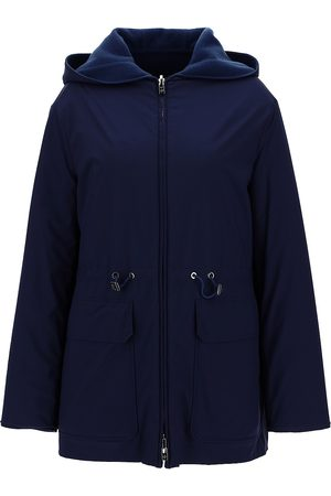 Loro Piana Women's Iwan Reversible Hooded Cashmere Double Wind Stretch Storm System® Jacket - - Size 48 (12)