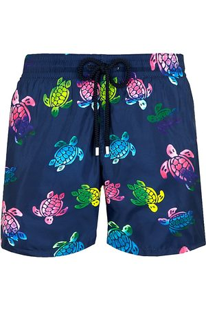 Vilebrequin Men's Ronde De Tortue Printed Swim Trunks - - Size Large