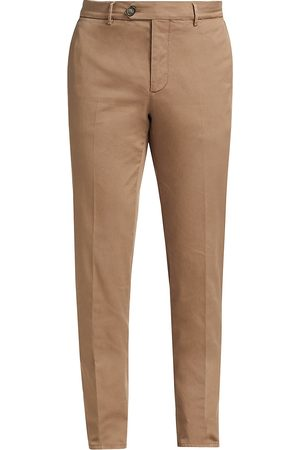 Brunello Cucinelli Men's Gabardine Flat Front Pants - - Size 56 (40)