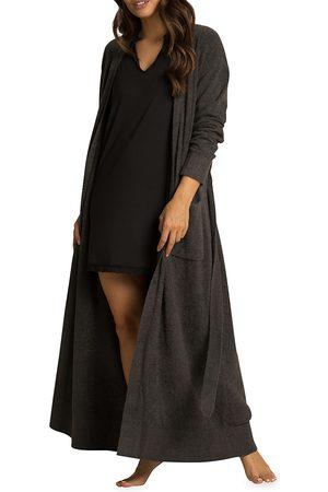 Barefoot Dreams Women's Cozychic Lite Long Robe - - Size Large-XL