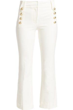 Derek Lam Women's Robertson Crop Flare Pants - - Size 8