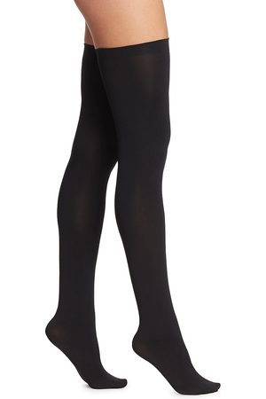 Wolford Women's Fatal Stay-Up 80 Thigh-Highs - - Size Medium