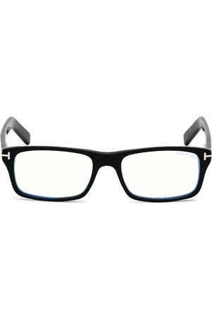Tom Ford Men's 55MM Square Blue Block Filter Optical Glasses