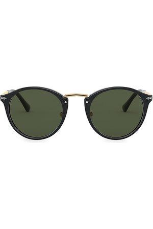 Persol Men's 49MM Round Sunglasses