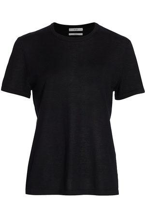 CO Women's Cashmere T-Shirt - - Size Medium