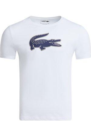 Lacoste Men's Crocodile Graphic T-Shirt - Navy - Size XXL
