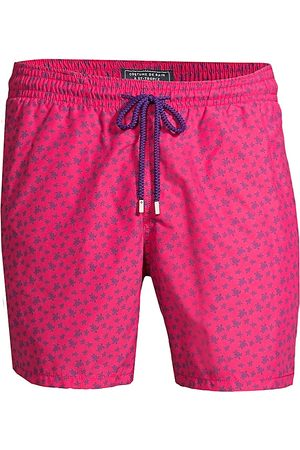 Vilebrequin Men's Moorea Micro Ronde des Tortues Swim Trunks - - Size XL