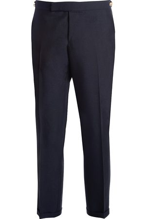 Thom Browne Men's Low Rise Skinny-Fit Wool Pants - - Size 1 (Small)