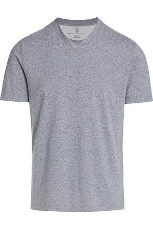 Brunello Cucinelli Men's Cotton V-Neck T-Shirt - - Size 56 (46)
