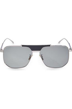 Bottega Veneta Men's 58MM Square Sunglasses