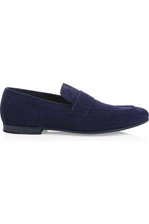 Dunhill Men's Chiltern Soft Suede Loafers - - Size 44 (11)