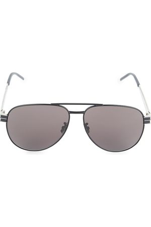 Saint Laurent Men's 60MM Aviator Sunglasses