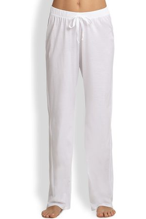 Hanro Women's Cotton Deluxe Lounge Pants - - Size XL