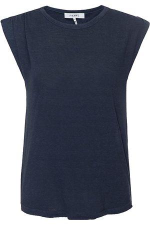Frame Women's Slouchy Linen Tank - - Size XL