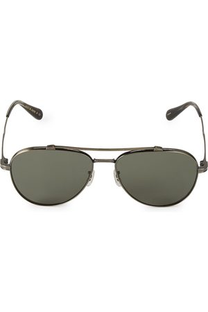 Oliver Peoples Men's RS20 56MM Rikson Polarized Aviator Sunglasses