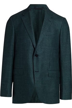 Ermenegildo Zegna Men's Textured Wool-Blend Sports Jacket - - Size 60 (50) L