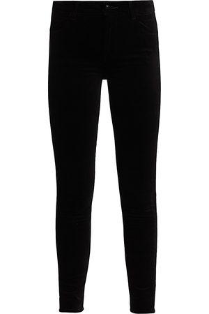J Brand Women's Maria High-Rise Skinny Jeans - - Size 32 (12)