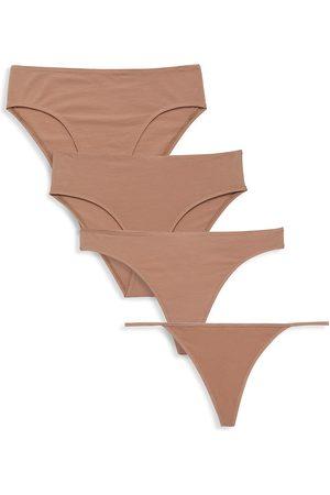 SKIN Women's 4-Pack The Underwear Kit - - Size XS