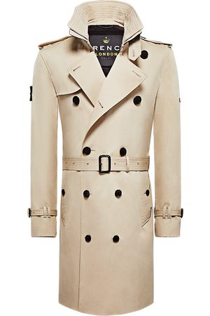 Trench London Men's The King Classic Trench Coat - - Size Large
