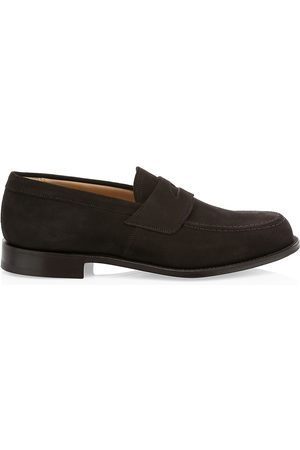 Church's Men's Dawley Suede Penny Loafers - - Size 10 UK (11 US)