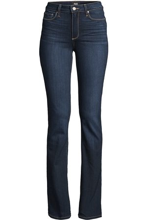 Paige Women's Manhattan High-Rise Bootcut Jeans - - Size 32 (10-12)