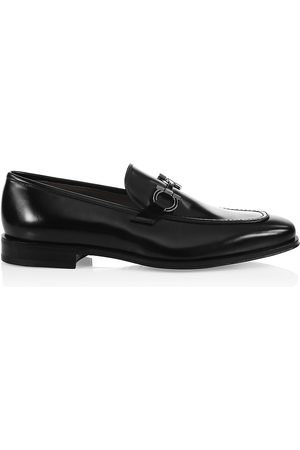 Salvatore Ferragamo Men's Seattle Gancini Bit Leather Loafers - - Size 11.5 EE