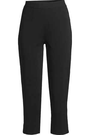 Misook Women's High-Rise Cropped Pants - - Size XL