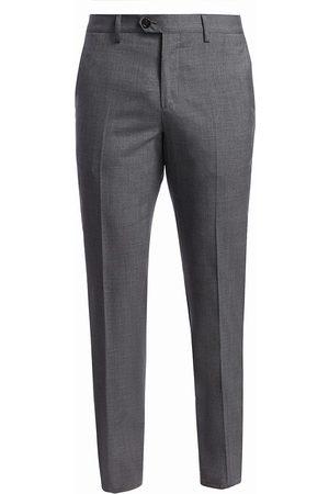 Brunello Cucinelli Men's Lightweight Wool Flat Front Trousers - - Size 56 (40)