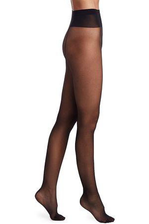 Wolford Women's Individual 10 Back Seam Tights - - Size Medium