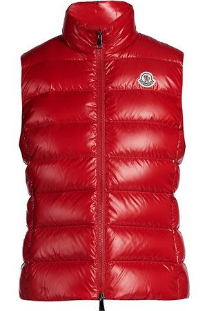 Moncler Women's Ghany Lacque Quilted Down Vest - - Size 3 (Large)