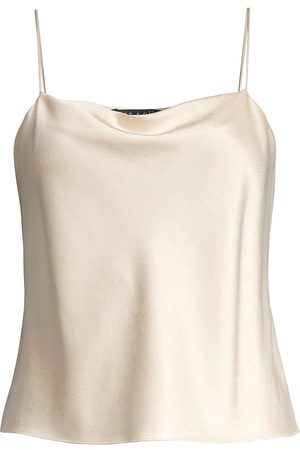 ALICE+OLIVIA Women's Harmon Drapey Slip Tank - - Size XL