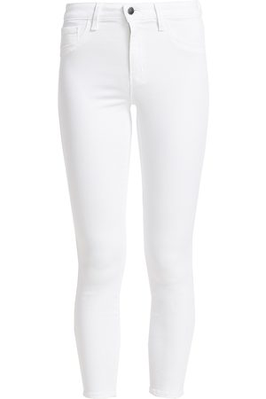 L'Agence Women's Margot High-Rise Ankle Skinny Jeans - - Size 28 (4-6)
