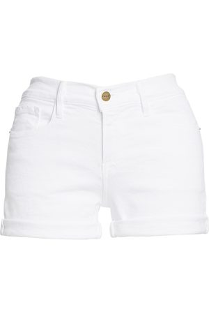 Frame Women's Le Cut Off Mid-Rise Denim Shorts - - Size 32 (10-12)