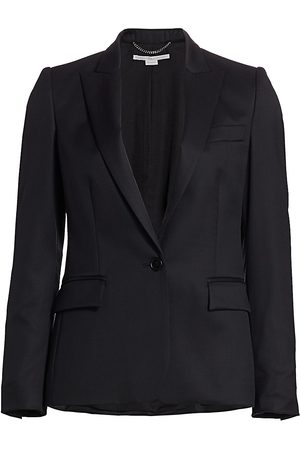 Stella McCartney Women's Iris Wool Jacket - - Size 34 (0)