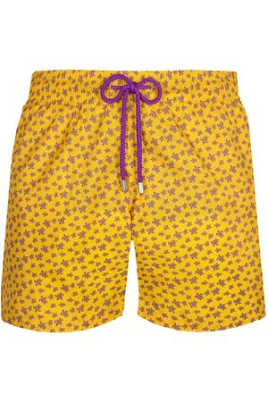 Vilebrequin Men's Micro Turtle Swim Shorts - - Size Large