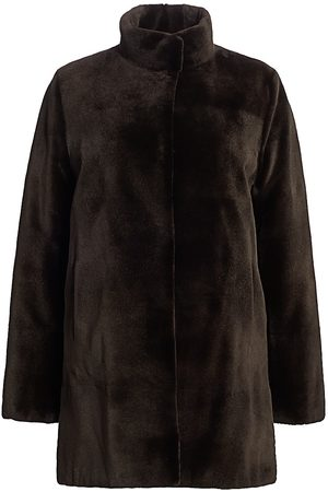 The Fur Salon Women's Zac Posen For Reversible Sheared Mink Coat - - Size Small