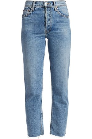 RE/DONE Women's High-Rise Stovepipe Jeans - - Size 28 (4-6)