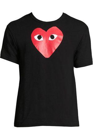 Comme des Garçons Men's Signature Logo Graphic T-Shirt - - Size Small