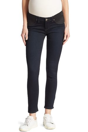 Paige Women Skinny - Women's Verdugo Mid-Rise Ankle Skinny Maternity Jeans - - Size 31 (10)