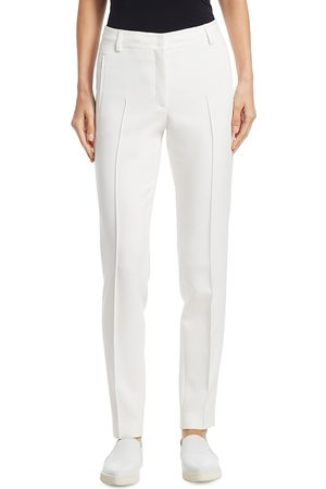 AKRIS Women's Fabia Pebble Crepe Pants - - Size 2