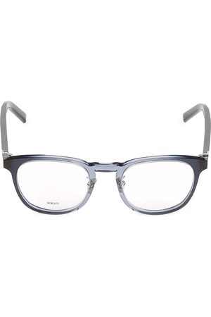 Berluti Men's 51MM Plastic Square Optical Glasses
