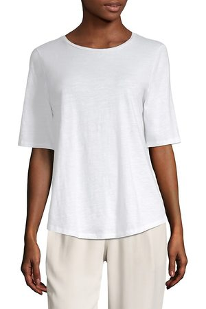 Eileen Fisher Women's System Slubby Tee - - Size XL